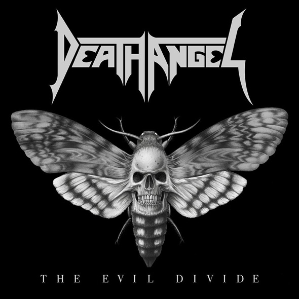 death angel album cover - Death Angel - The Evil Divide (Album Review)