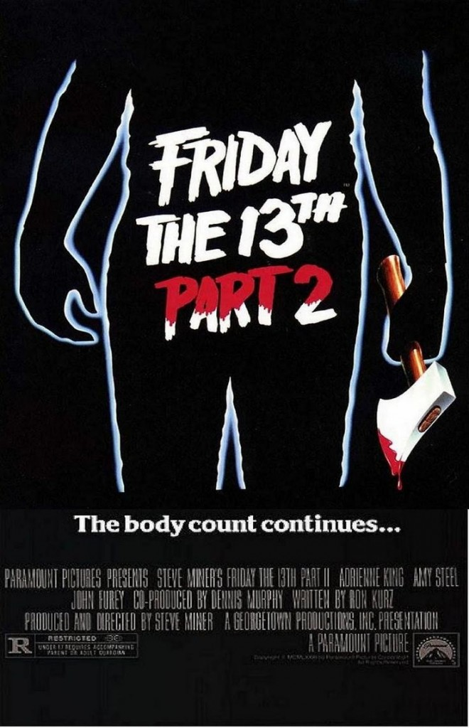 friday the 13th part 2 poster 660x1024 - Interview - Steve Dash - The Man Behind The Mask