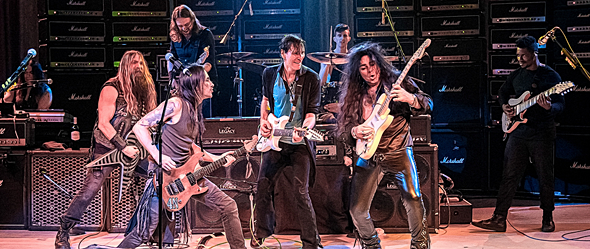gen axe slide - Generation Axe Shreds NYCB Theatre At Westbury, NY 5-6-16