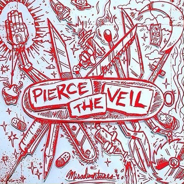 pierce the veil album cover1 - Interview - Tony Perry of Pierce the Veil