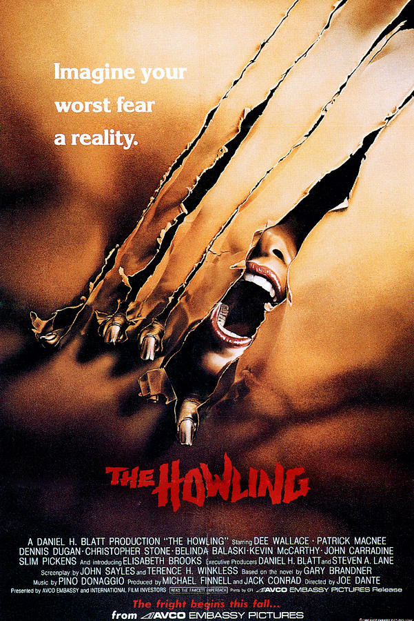the howling poster 1981 everett - The Howling - Still A Hair-Raising Experience After 35 Years