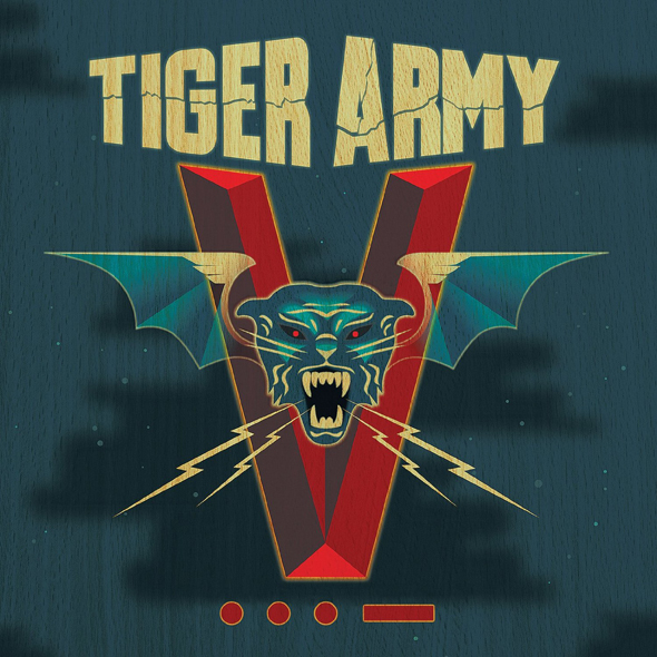 tiger army cover - Tiger Army - V •••- (Album Review)