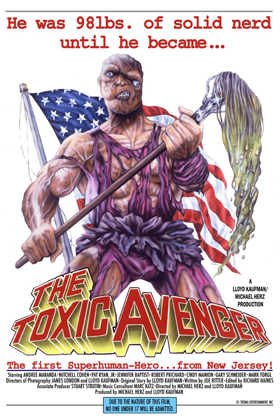 toxic avenger poster copy - Interview - Abe Cunningham of Deftones