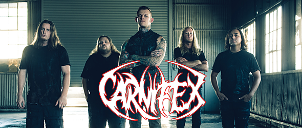 Carnifex2016 promo - Interview - Scott Ian Lewis of Carnifex