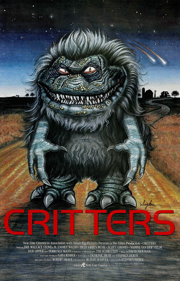 Critters Movie Poster - Critters - Still Hungry After 30 Years