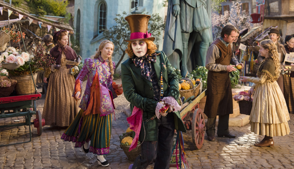 alice through 2 - Alice Through the Looking Glass (Movie Review)