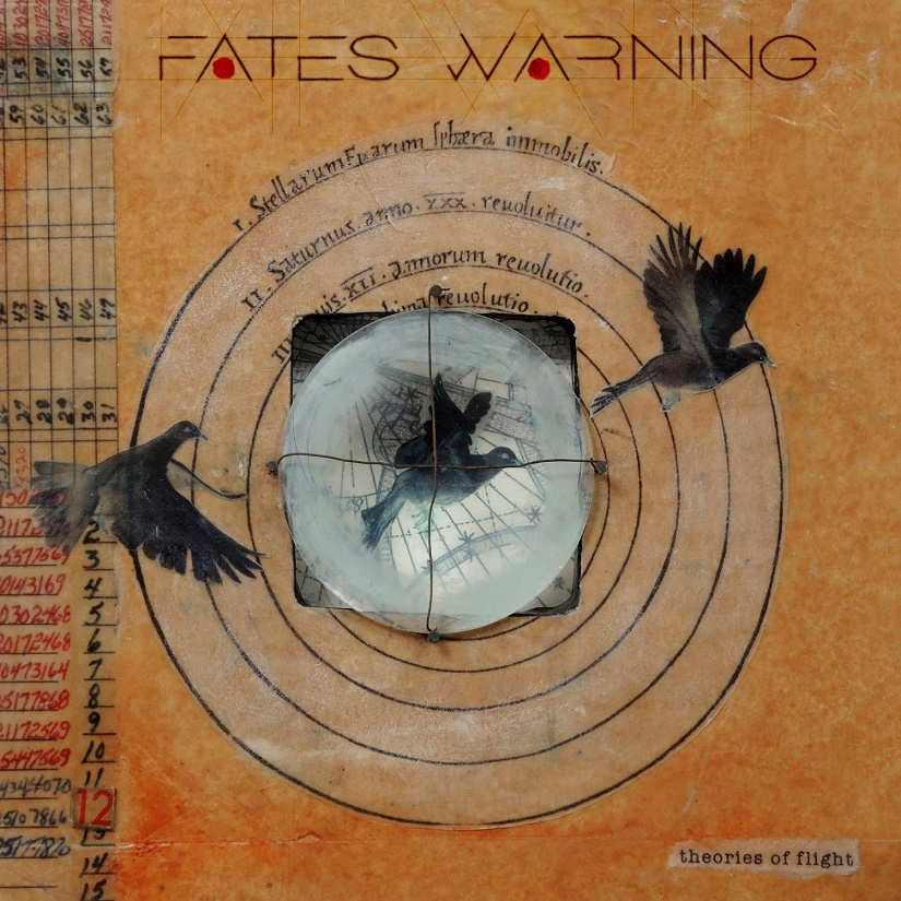 fates warning album cover - Fates Warning - Theories of Flight (Album Review)