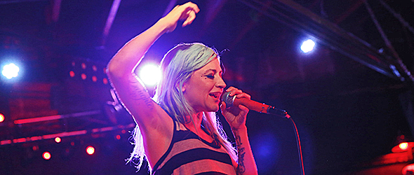 lacey slide live - Lacey Sturm Lifts Spirits At Revolution Amityville, NY 7-13-16