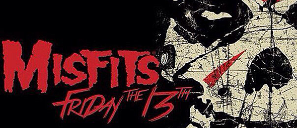 misfits 13th slide - Misfits - Friday the 13th (Album Review)