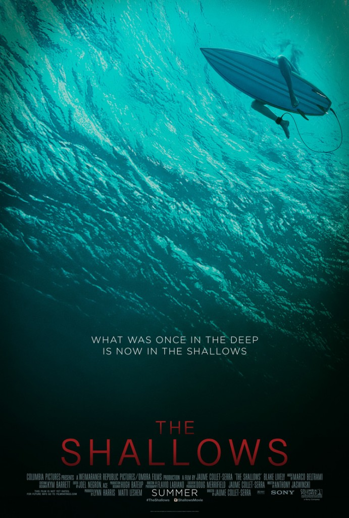 shallows poster 691x1024 - The Shallows (Movie Review)