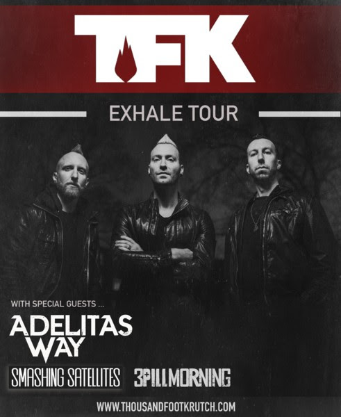 thousand exhale tour - Interview - Trevor McNevan of Thousand Foot Krutch