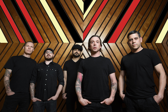 Billy Talent Main Press Photo - Billy Talent - Afraid of Heights (Album Review)