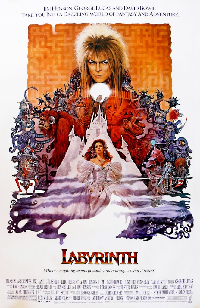 Labyrinth 1986 Original 664x1024 - Finding The Center Of Labyrinth 30 Years Later