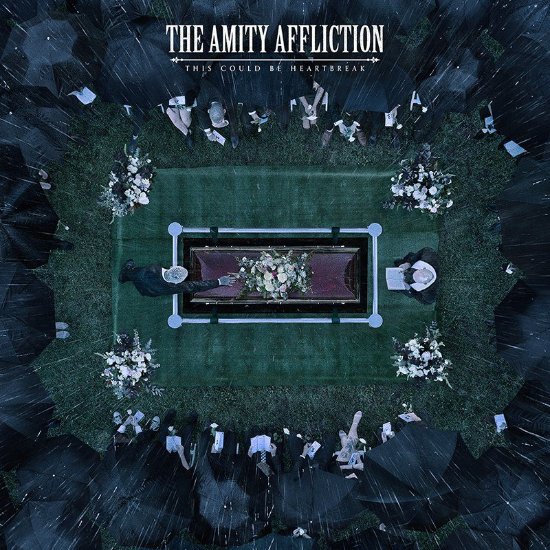 amity album cover - The Amity Affliction - This Could Be Heartbreak (Album Review)