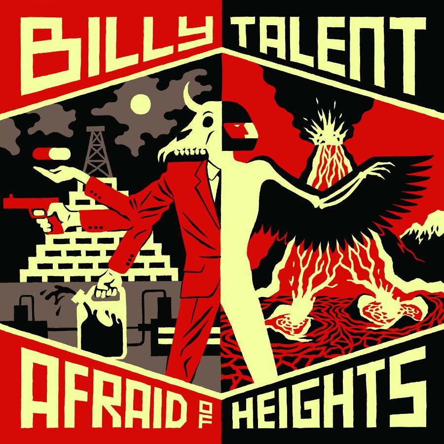 billy talent cover - Billy Talent - Afraid of Heights (Album Review)