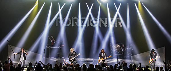 forieigner slide ct - Foreigner Rock Foxwoods Casino Ledyard, Connecticut 7-29-16