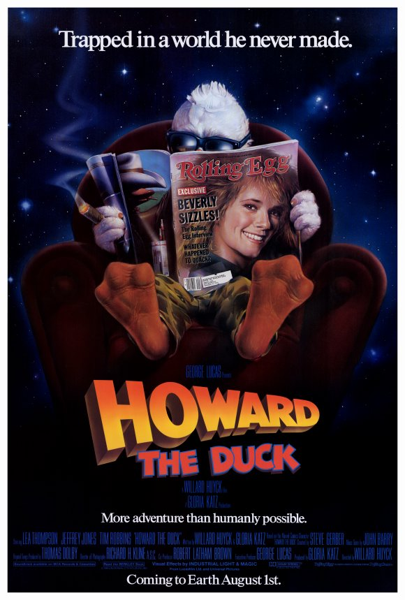 howard the duck movie poster - Howard the Duck - As Entertaining As Ever Thirty Years Later