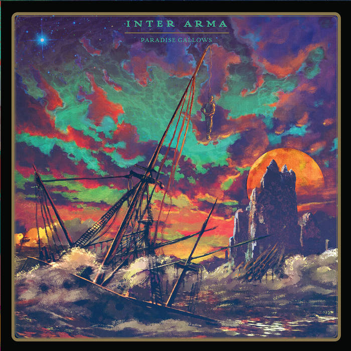 inter arma album cover - Inter Arma - Paradise Gallows (Album Review)