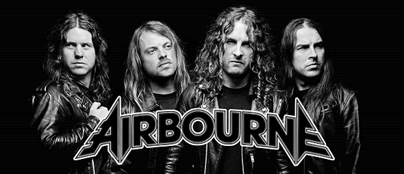 airbourne slide 2016 promo - Interview - Ryan O'Keeffe of Airbourne