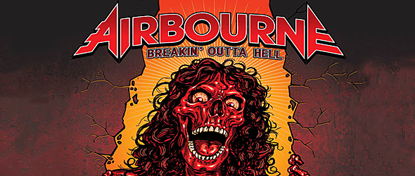 airbourne slide - Airbourne - Breakin' Outta Hell (Album Review)
