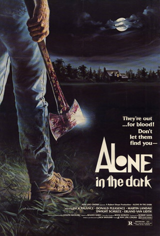 alone poster - Interview - Steve Dash - The Man Behind The Mask