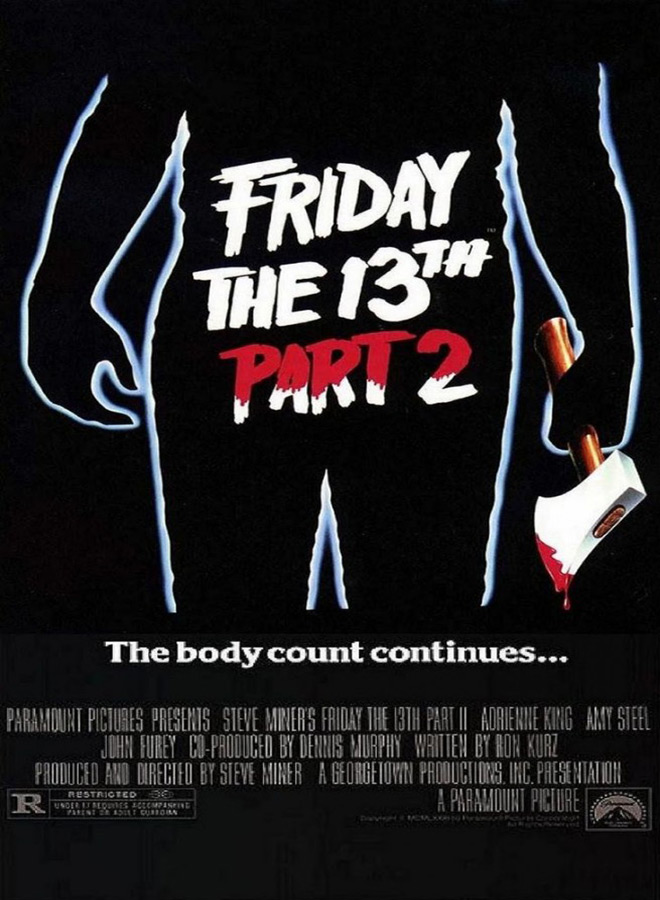friday the 13th part 2 poster  - Interview - Steve Dash - The Man Behind The Mask