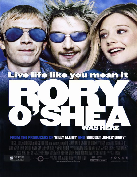 rory oshea was here movie poster 2004 1020252646 - Rory O'Shea Was Here - An Exploration Into The Human Soul
