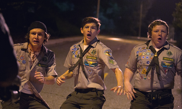 scouts 1 - Scouts Guide to the Zombie Apocalypse (Movie Review)
