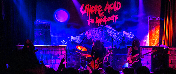 uncle acid sept 2016 - Uncle Acid & the Deadbeats Haunt The Music Hall of Williamsburg Brooklyn, NY 9-10-16