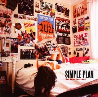 Get Your Heart On Simple Plan album   cover art - Interview - Jeff Stinco of Simple Plan