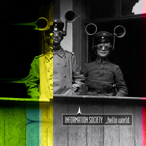 Insoc Hello World album cover - Interview - Kurt Harland Larson of Information Society