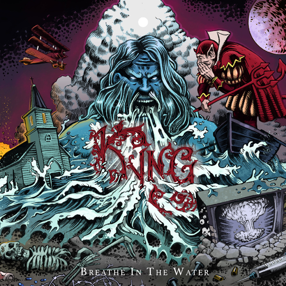 KYNG BREATHE IN THE WATER COVER ART - Kyng - Breathe In The Water (Album Review)