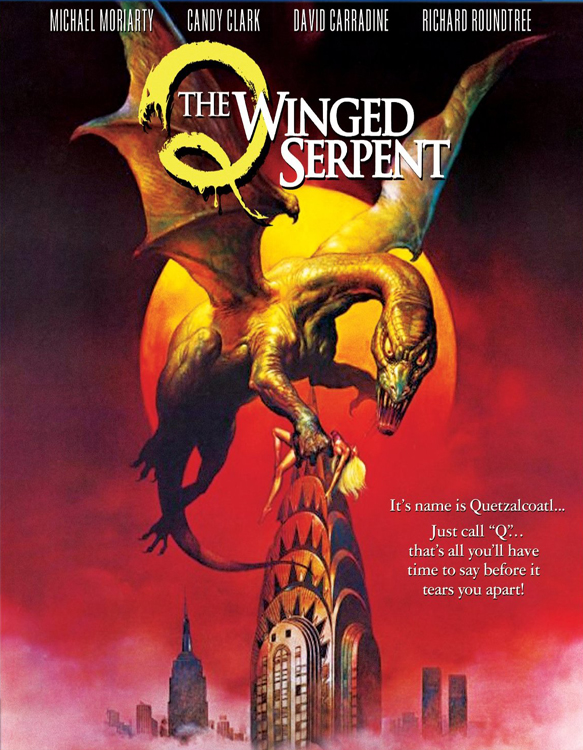 Q1 poster - This Week in Horror Movie History - Q – The Winged Serpent (1982)
