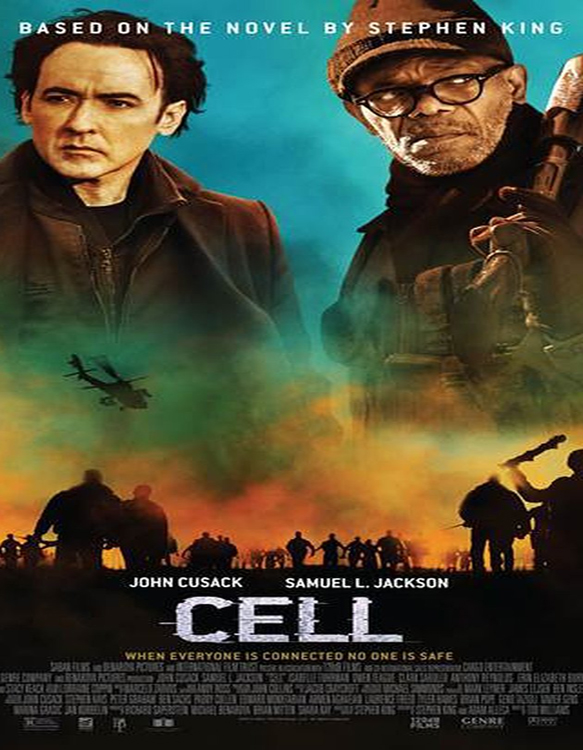 cell movie poster - Cell (Movie Review)
