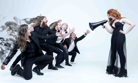 epica 2016 promo - Epica - The Holographic Principle (Album Review)
