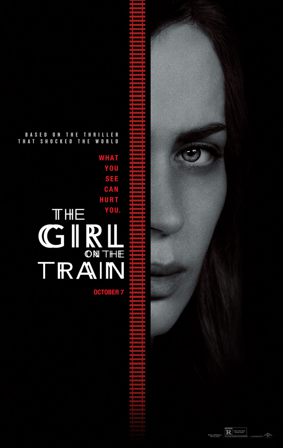 girl on train movie poster - The Girl on the Train (Movie Review)