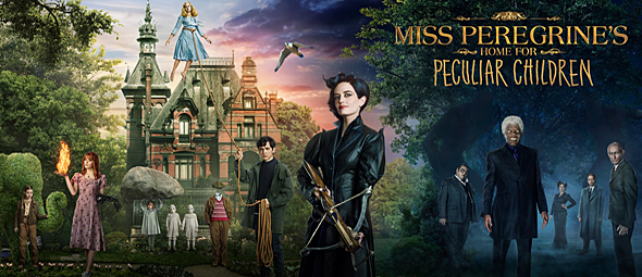 miss peregrines slide - Miss Peregrine's Home for Peculiar Children (Movie Review)