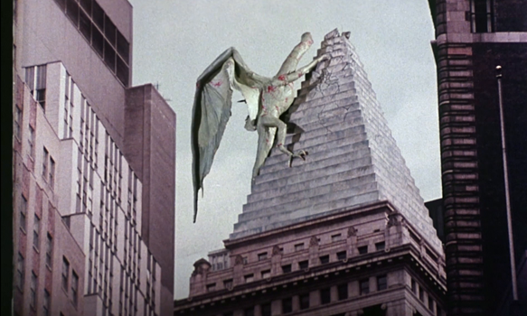 q movie still - This Week in Horror Movie History - Q – The Winged Serpent (1982)
