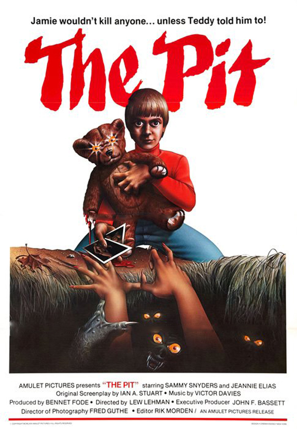 the pit poster - This Week in Horror Movie History - The Pit (1981)