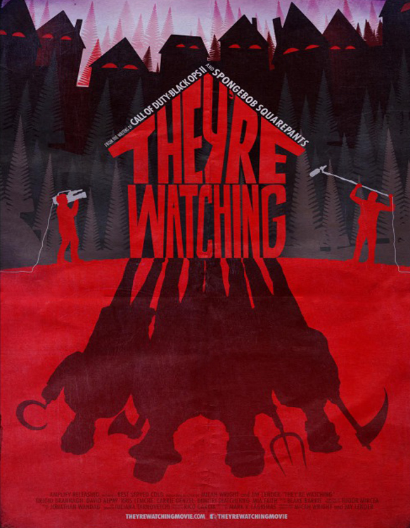 theyre watching poster - They're Watching (Movie Review)