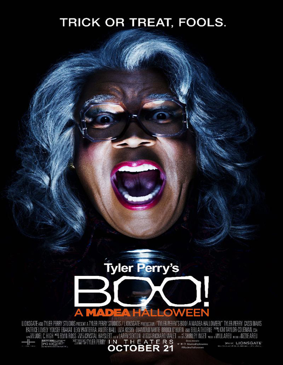 tyler perrys boo a madea hallowee poster - Boo! A Madea Halloween (Movie Review)