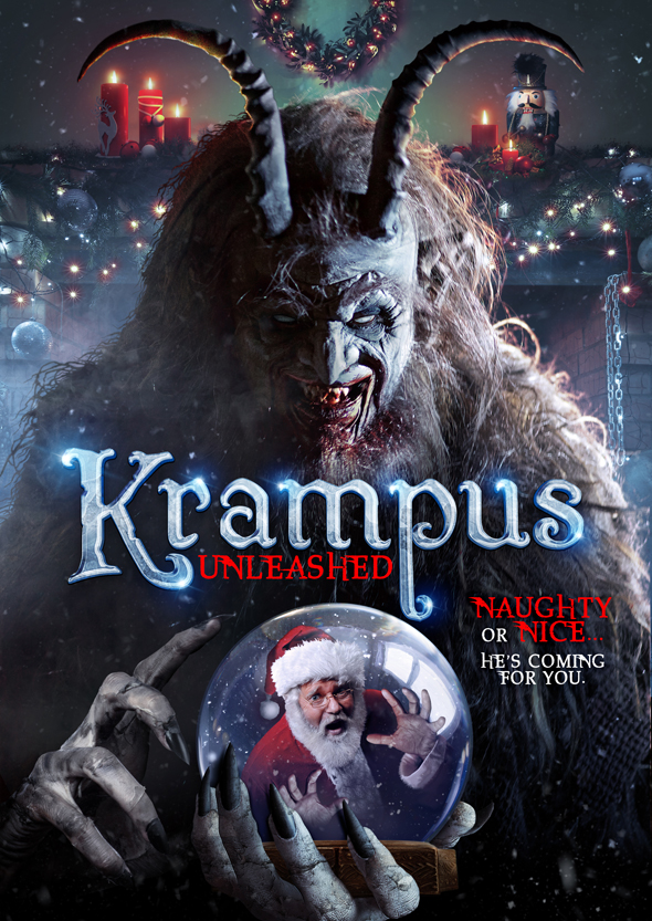 KRAMPUS UNLEASHED KEY ART Final - Krampus Unleashed (Movie Review)