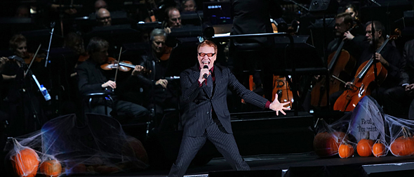danny slide - Danny Elfman Brings The Nightmare Before Christmas To Life Hollywood Bowl, Los Angeles, CA 10-28-16
