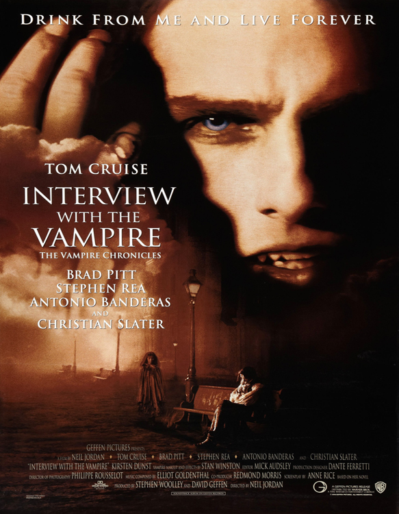 interview with the vampire xxlg - This Week in Horror Movie History - Interview with the Vampire (1994)