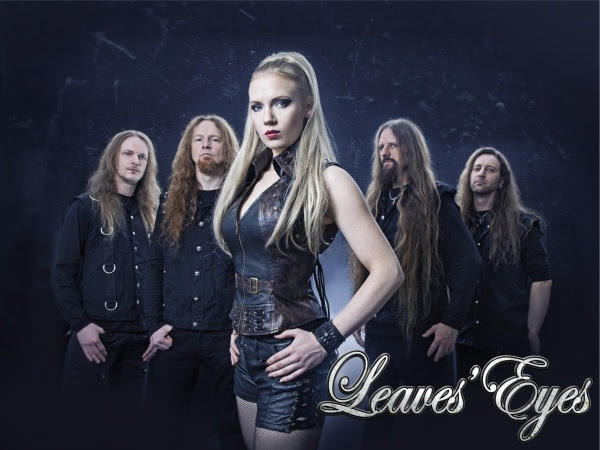 leaves eyes promo - Leaves' Eyes - Fires In The North (EP Review)