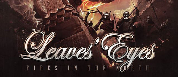 leaveseyesfire slide - Leaves' Eyes - Fires In The North (EP Review)