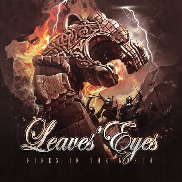 leaveseyesfiresep - Leaves' Eyes - Fires In The North (EP Review)