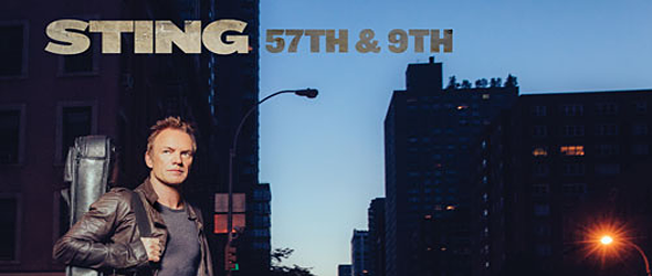 sting slide - Sting - 57th & 9th (Album Review)