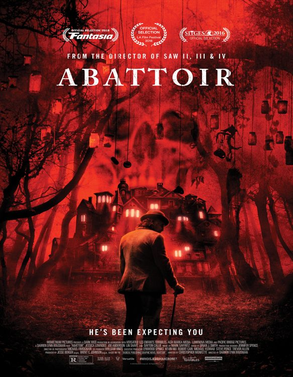 Abattoir poster - Interview - Darren Lynn Bousman