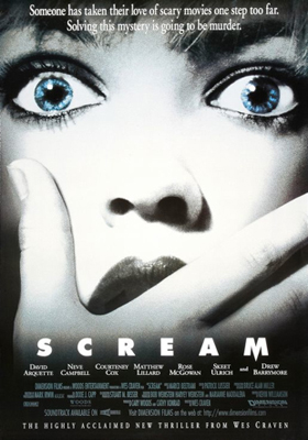 Scream movie poster - Interview - September Mourning